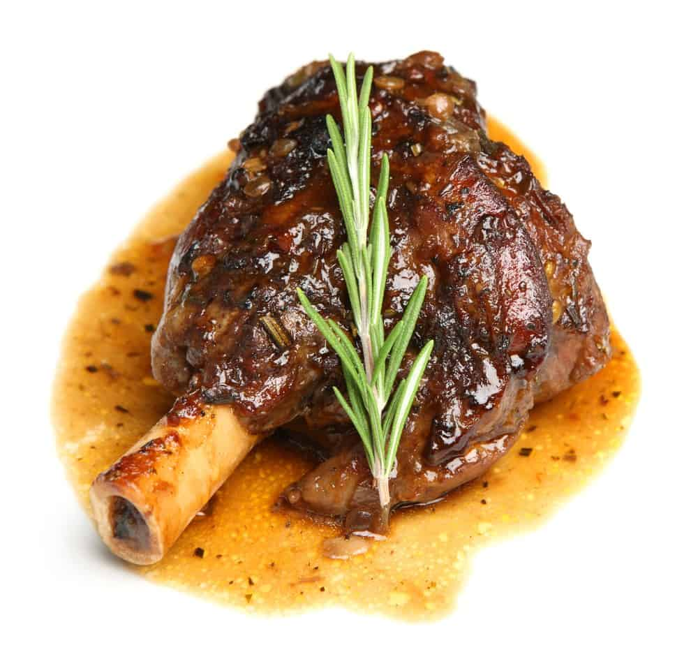 A Delicious Recipe For Braised Lamb Shanks.